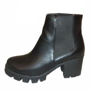 🔴SOLD-Mercari Nasty Gal Black Platform Heels